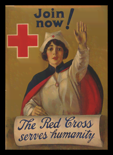 Quadro Poster Propaganda The Red Cross