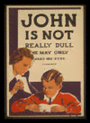 Quadro Poster Propaganda John is Not Really