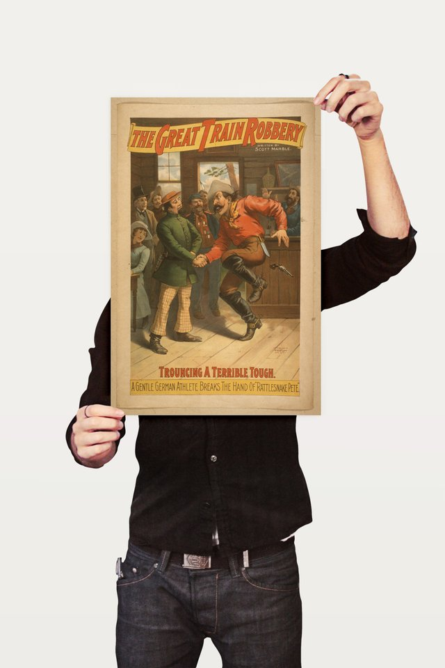 Poster Propaganda The Great Train Robbery 1 - comprar online