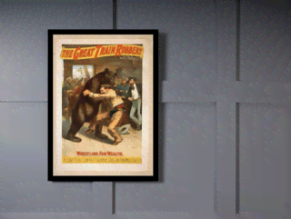 Quadro Poster Propaganda The Great Train Robbery 2 na internet