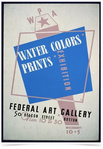 Poster Propaganda Water Colors Prints