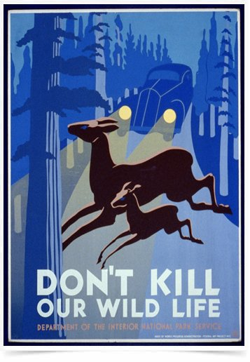 Poster Propaganda Dont Kill