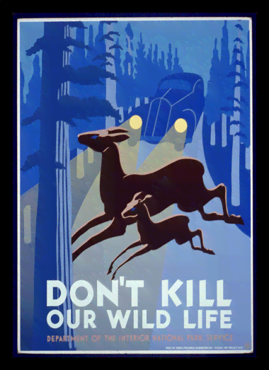 Quadro Poster Propaganda Dont Kill