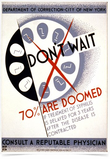 Poster Propaganda Department Of Correction of New York