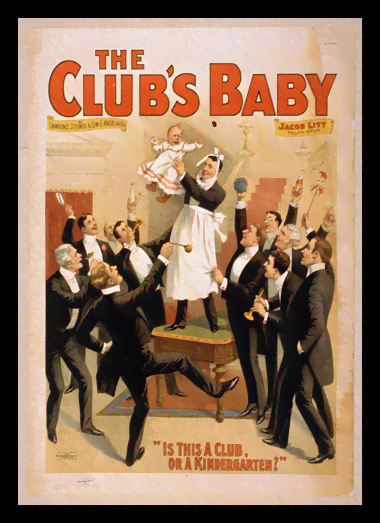 Quadro Poster Propaganda The Clubs Baby 2