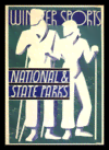 Quadro Poster Esportes Winter Sports National State Parks
