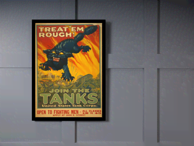 Quadro Poster Natureza Join the Tanks na internet
