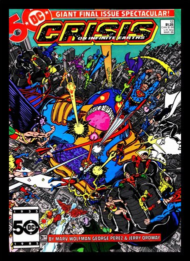 Quadro Poster HQ Crisis on Infinite Earths 5