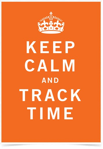 Poster Frases Keep Calm Track - Decor10