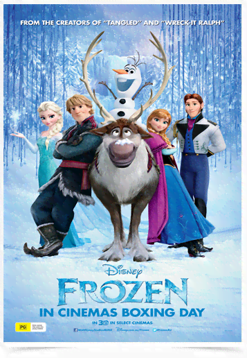 Poster Cinema Frozen 1