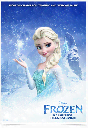 Poster Cinema Frozen 3