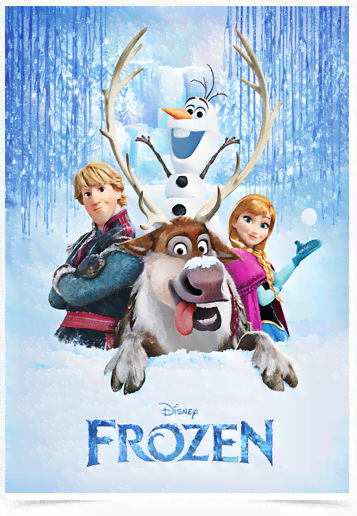 Poster Cinema Frozen 6