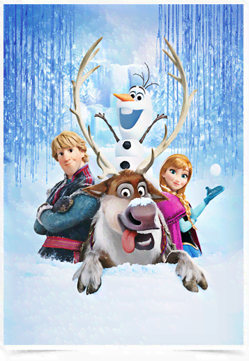 Poster Cinema Frozen 8