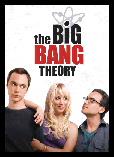 Quadro Poster Cinema The Big Bang Theory 1