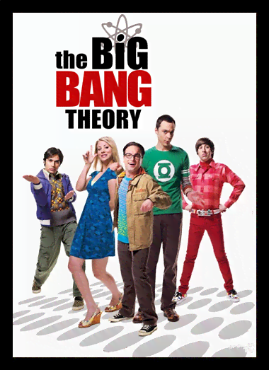 Quadro Poster Cinema The Big Bang Theory 3