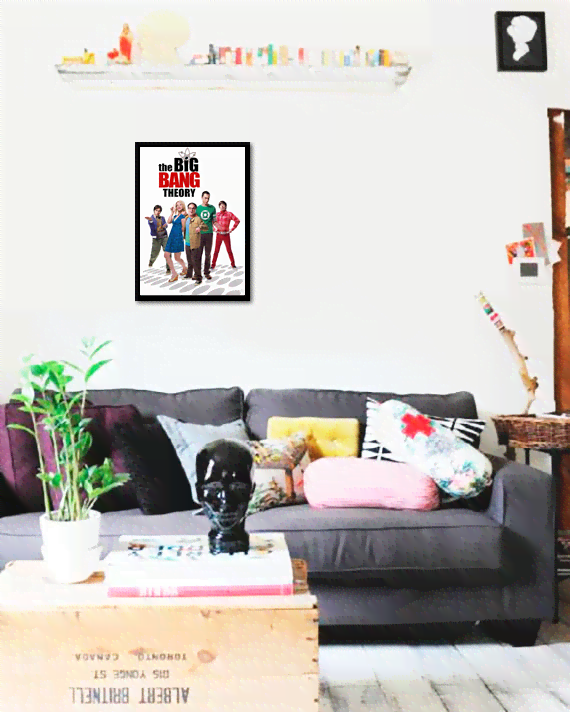 Quadro Poster Cinema The Big Bang Theory 3 na internet