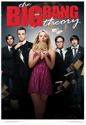 Poster Cinema The Big Bang Theory 6