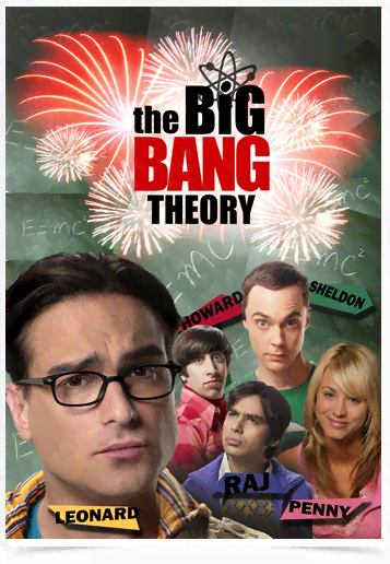 Poster Cinema The Big Bang Theory 7