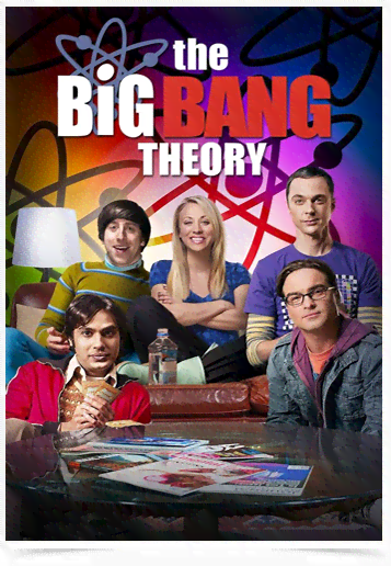 Poster Cinema The Big Bang Theory 8