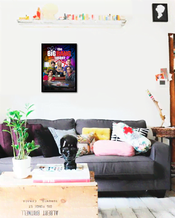 Quadro Poster Cinema The Big Bang Theory 8 - comprar online