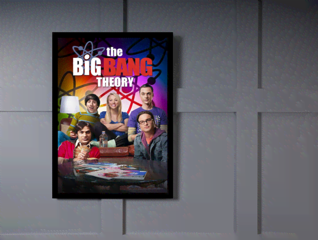 Quadro Poster Cinema The Big Bang Theory 8 na internet