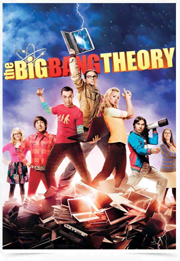 Poster Cinema The Big Bang Theory 11