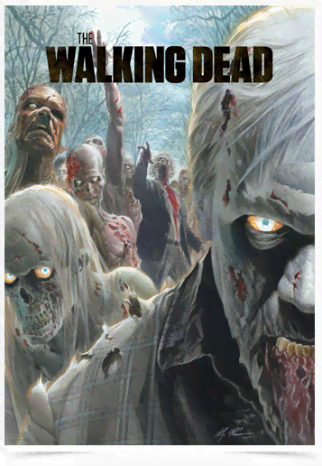 Poster Cinema The Walking Dead 3