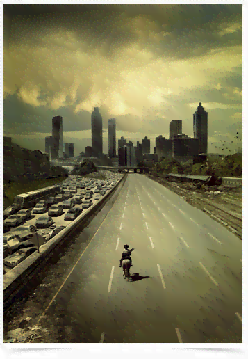 Poster Cinema The Walking Dead 4