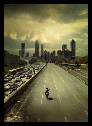 Quadro Poster Cinema The Walking Dead 4