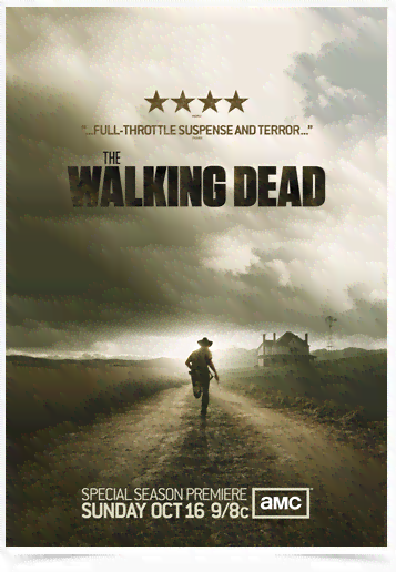 Poster Cinema The Walking Dead 5