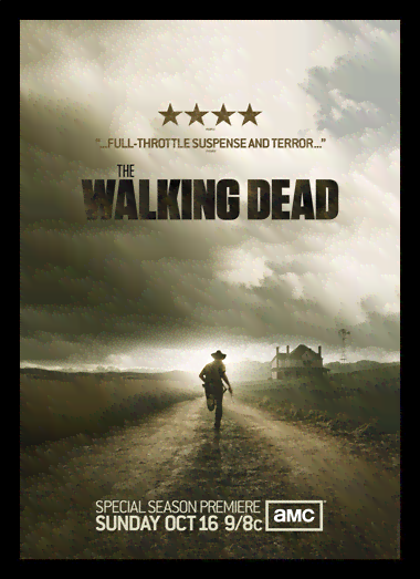 Quadro Poster Cinema The Walking Dead 5