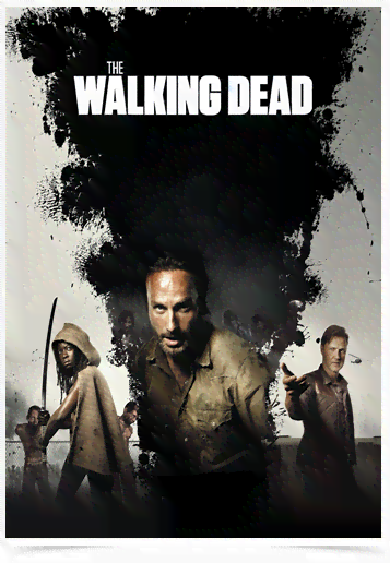 Poster Cinema The Walking Dead 7