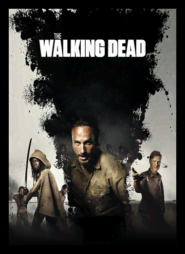 Quadro Poster Cinema The Walking Dead 7
