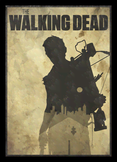 Quadro Poster Cinema The Walking Dead 8