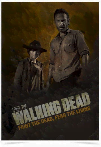 Poster Cinema The Walking Dead 10