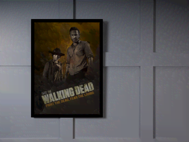 Quadro Poster Cinema The Walking Dead 10 na internet