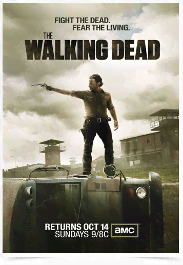 Poster Cinema The Walking Dead 11