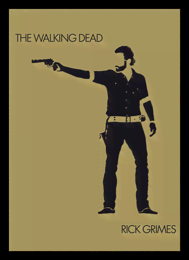 Quadro Poster Cinema The Walking Dead 12