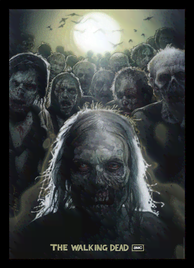 Quadro Poster Cinema The Walking Dead 13