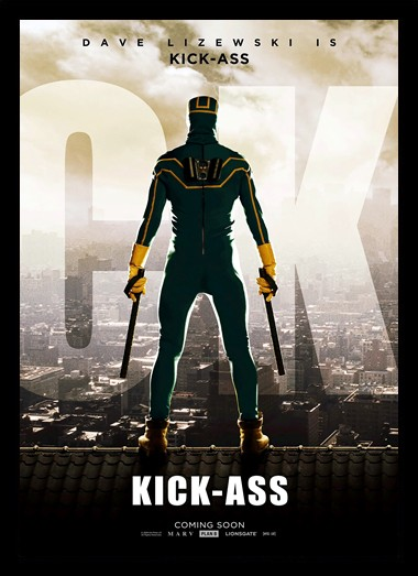 Quadro Poster Cinema Kick Ass 1