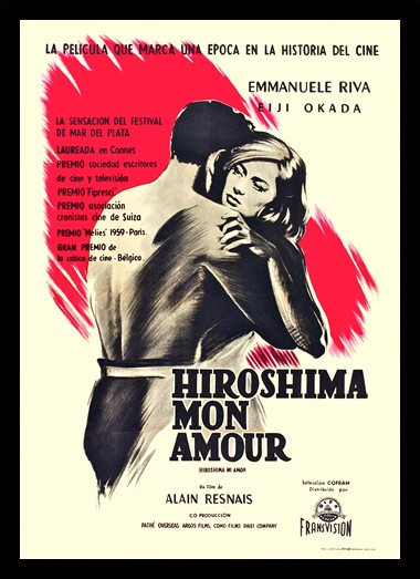Quadro Poster Cinema Hiroshima Mom Amour