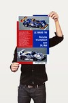 Poster Carros Porsche Le Mans 96 - Decor10