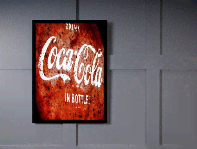 Quadro Poster Cozinha Drink Coca Cola In Bottles na internet