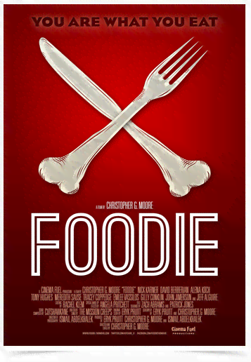 Poster Cinema Foodie