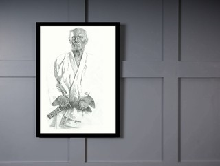 Quadro Poster Personalidades Helio Gracie 3 on internet