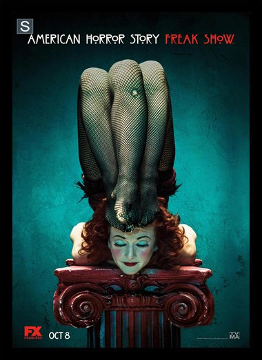 Quadro Poster Series American Horror Story Freak Show 1