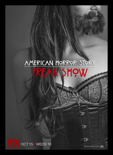 Quadro Poster Series American Horror Story Freak Show 2