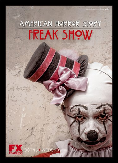 Quadro Poster Series American Horror Story Freak Show 11
