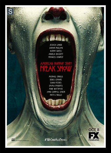 Quadro Poster Series American Horror Story Freak Show 12