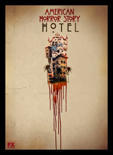 Quadro Poster Series American Horror Story Hotel